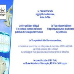 "Illustration : Vernissage exposition ""Piscis Lagoena"" de l'artiste Bibi 🗓"